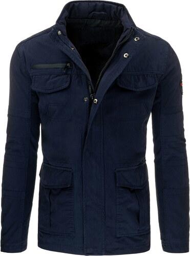 Jarná pánska tmavo modrá bunda (tx1545) odtiene farieb  modrá - Glami.sk 2acf753a1f4