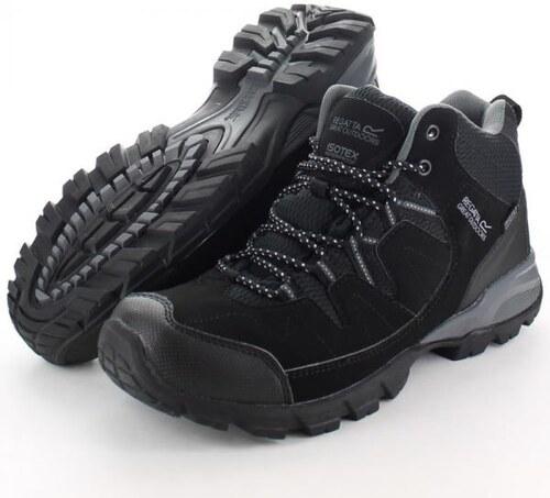 e82c8a7431 Pánská obuv Regatta RMF459 HOLCOMBE MID Black Granit - Glami.cz