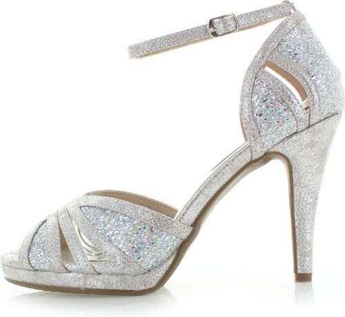 a01f4d5117a2 Strieborné sandále XTI 30577 - Glami.sk