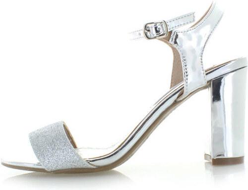 0875b45acd6b Strieborné sandále XTI 30583 - Glami.sk