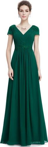 7734f87c3e4 Ever-Pretty plesové šaty Smaragdové Snění