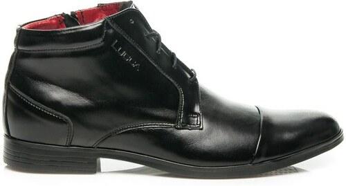 Pánské kožené boty Lucca Amazon černé - Glami.cz b4edb0f34d