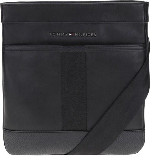 Čierna pánska kožená crossbody taška Tommy Hilfiger - Glami.sk 6af8d31fe73