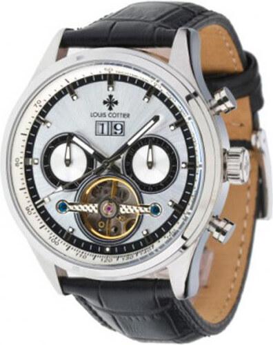 ee8ac614a46 Louis Cottier Pánské automatické hodinky HB3520C2BC1 - Glami.cz