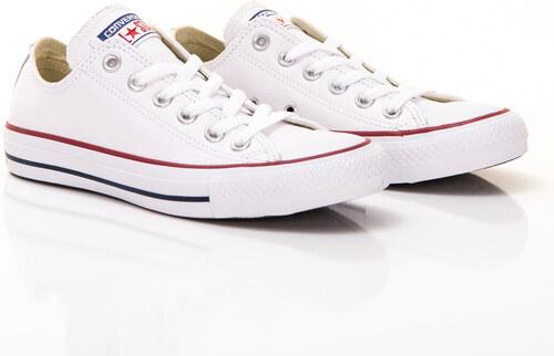 Pánske Tenisky Converse Chuck Taylor All Star Leather Low Top White ... b0da34904e4