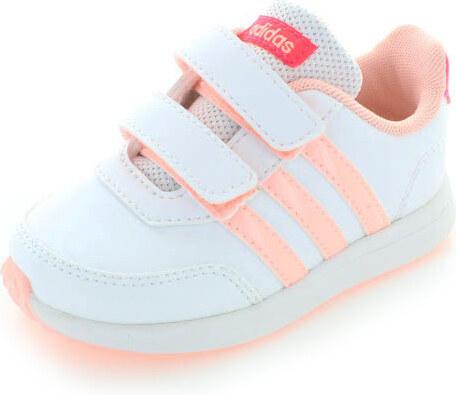 adidas NEO Dětské bílo-růžové tenisky ADIDAS Vs Switch 2.0 Cmf Inf ... b59c7185a0