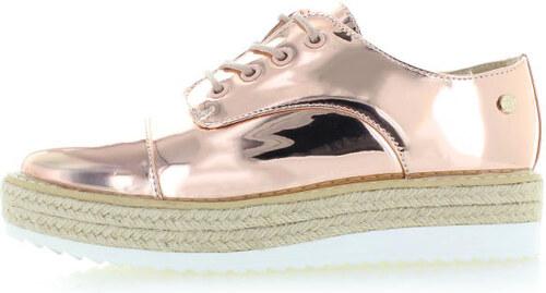 Rózsaszín-arany platform cipő XTI 46961 - Glami.hu e2480f8979