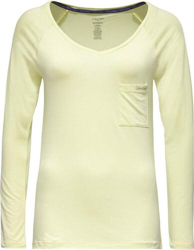 b883ba4fc Calvin Klein Dámské triko Top L/S QS5539E-AW3 - Glami.cz