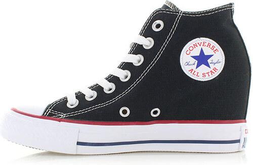 Converse Dámské černé platformové tenisky Chuck Taylor All Star Lux ... 4b8e439eb6