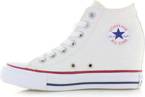 Converse Fehér női platform tornacipő Chuck Taylor All Star Lux ... 0e3a8c6add