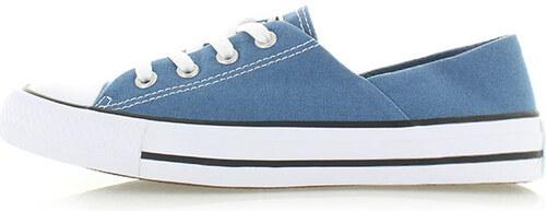 Converse Dámske modré nízke tenisky Chuck Taylor All Star Coral OX ... fd28c1a8ff