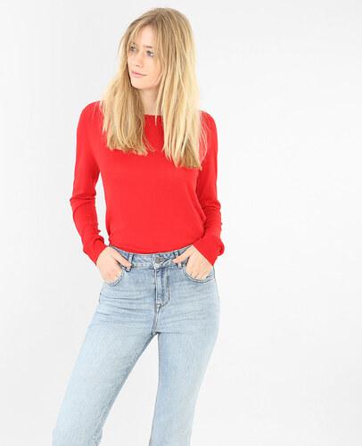 leichter einfacher pullover rot gr e l pimkie mode f r damen. Black Bedroom Furniture Sets. Home Design Ideas
