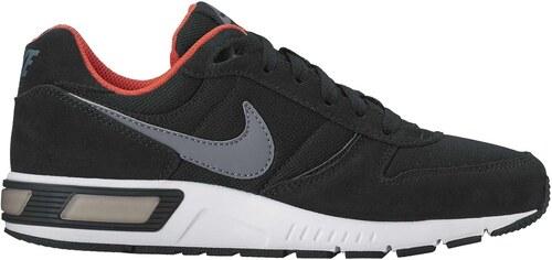 ce419d07fe -17% Dětské tenisky Nike NIGHTGAZER (GS) BLACK COOL GREY-MAX ORANGE-WHI