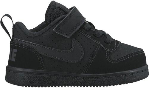 98aa8b3ce Dětské tenisky Nike COURT BOROUGH LOW (TDV) BLACK/BLACK - Glami.cz