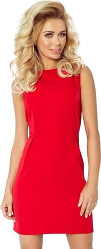 445793ab9f84 Numoco Dámske šaty 103-2 red - Glami.sk