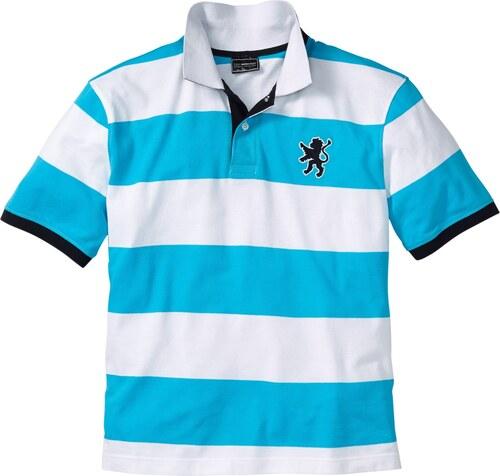 bpc selection Bonprix - Polo bleu manches courtes pour homme - Glami.fr 2339fe29e3d0