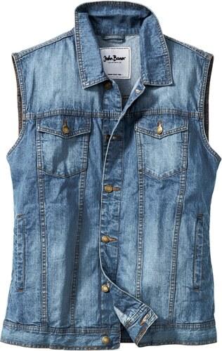 Sans Veste John Baner Jeanswear Bleu En Jean Manches Fit Regular rPEqEX4x