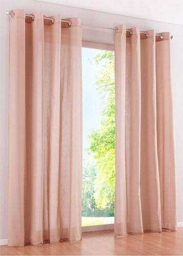 Bpc living vorhang gent 1er pack in beige von bonprix for Bonprix vorhang