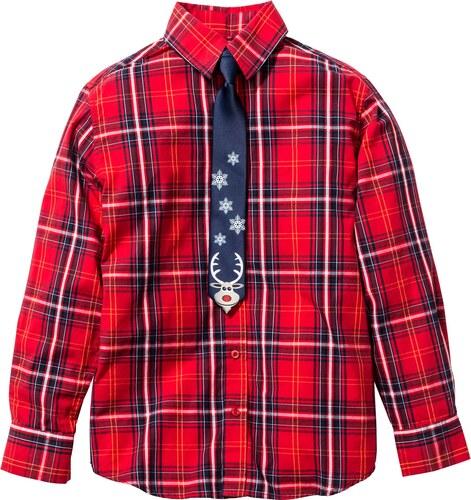 ee1825bdad2 bonprix Košile s vánoční kravatou (2dílná souprava) - Glami.cz