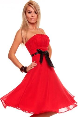 1722d2c03 Luxusní červené šaty na ples - Glami.cz