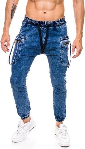 ESCOLI Pánské jogger kalhoty jeansové (džínové) - kapsáče - Glami.cz 10a407fd62
