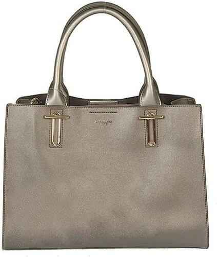 Dámská stříbrná kabelka David Jones CM3302 - Glami.cz 403b6faba85