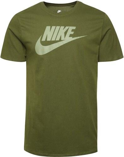 7e230f1f3b51 Zelené pánské triko s potiskem Nike Futura Icon - Glami.cz