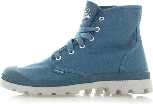 Pánské modré kotníkové boty Palladium Pampa HI Lite CVS - Glami.cz f07de446175