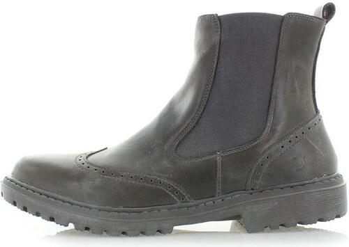 11936be08e Dude Shoes Pánske tmavosivé členkové čižmy Licata - Glami.sk