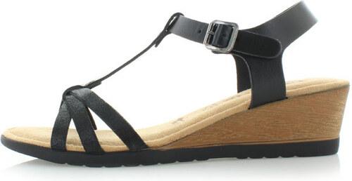 0fa68e911b Čierne sandále Tamaris 28218 - Glami.sk