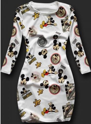 d5e2b53a4496 Dámské šaty Mickey Mouse 2 - bílá - Glami.cz