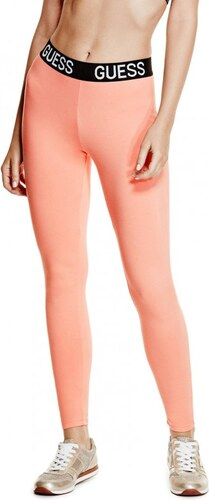 GUESS Dámské legíny Bailey Logo Band Leggings - camisole coral ... 2d0e0b1409