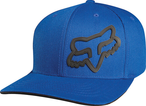 cb298ab2a8f Pánská čepice Fox Racing Signature Flexfit Hat Blue - Glami.cz