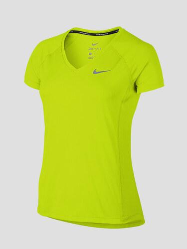 7dbd88bdc47e Tričko Nike W NK DRY MILER TOP V-NECK - Glami.cz