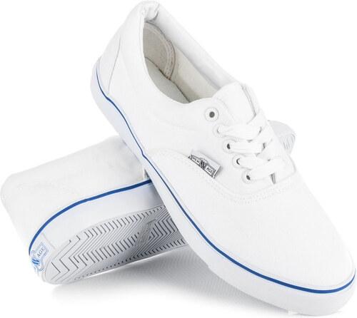 NEW AGE Pánske moderné biele šnurovacie tenisky - Glami.sk c9f8abedbbf