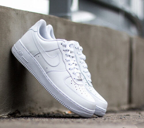 c05620e2504 Nike Air Force 1  07 White  White - Glami.cz