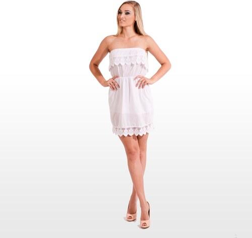 Letní šaty bez ramínek - Calzanatta 613 - Glami.cz d4aa1e7c15