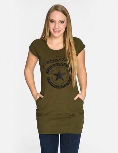 bb16201e633f Dámské dlouhé tričko s kapsami - Calzanatta 7165 - Glami.cz