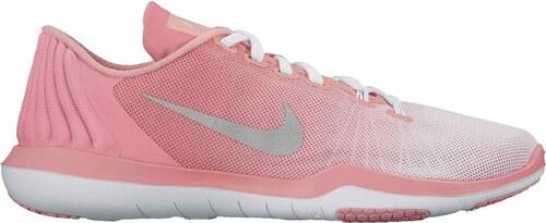 -27% Dámské fitness boty Nike W FLEX SUPREME TR 5 PRM WHITE MATTE SILVER- BRIGHT 148a3f1c6d