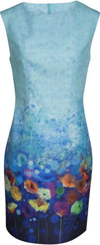 98fd39e74293 Smashed Lemon Dámské krátké šaty Turquoise 17276 10 - Glami.cz