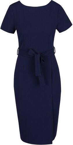 Tmavě modré pouzdrové šaty Dorothy Perkins - Glami.cz 70bceb5640