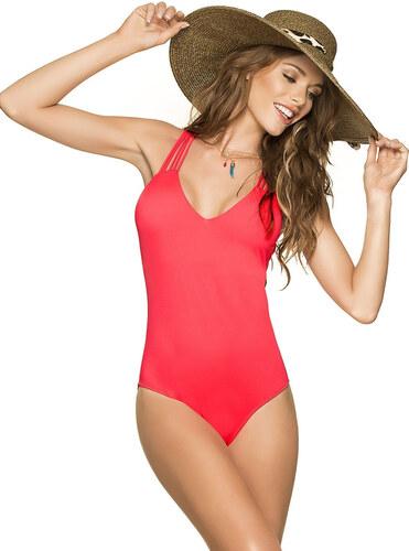 72e6b7466 Jednodílné plavky PHAX Sunshine Fiesta korálově červené - Glami.cz
