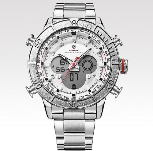 Weide Pánské hodinky Connect stříbrné - Glami.cz edf895645d