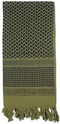 edfa2150122 ROTHCO Šátek SHEMAGH odlehčený OLIV 105 x 105 cm - Glami.cz