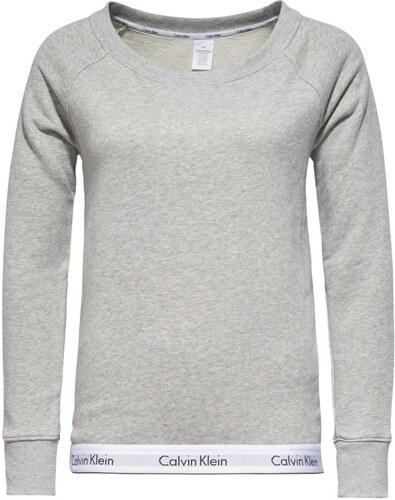 Calvin Klein sivá dámska mikina Top Sweatshirt - Glami.sk ca838a729da