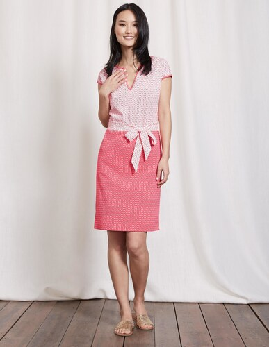 Thea jerseykleid pink damen boden for Bodendirect sale