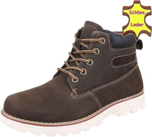 Odolné pánské boty pro pořádné chlapy do nepohody - model LUKÁŠ 03 z pravé  kůže aeeb152774