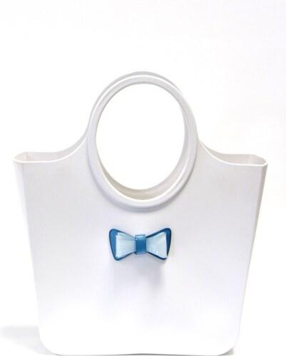 7a5b699819 Favolla Dámska kabelka Bag Bianco Papillon Azzurro Bianco - Glami.sk