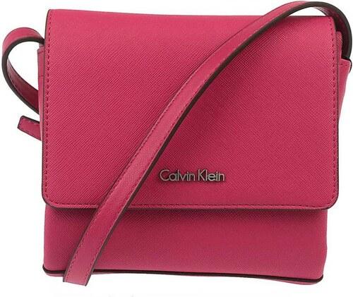7ac9965f7b Calvin Klein růžová kabelka M4RISSA Flap Crossbody - Glami.cz