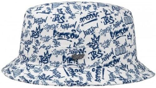 9a75ce2faf6 Stetson Ros - bavlněný outdoorový klobouk s grafiti potiskem - Glami.cz